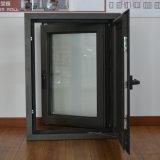 Finestra di alluminio della stoffa per tendine di profilo della rottura termica di alta qualità con la multi serratura & schermo K03006