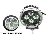 Luz del trabajo del CREE 5.5inch 40W LED con 4PCS 10W LED