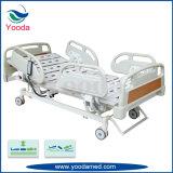 La función de tres camas de hospital de metales eléctrico