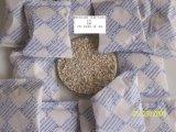 Argila dessecante ativada para absorver a umidade