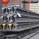 GB22kg Rail en acier avec plaques de poisson / Bolt / Nuts