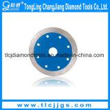 Sierra de diamante de corte de mármol con alta calidad