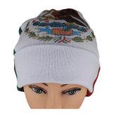 明白なジャカード織り方の帽子の帽子