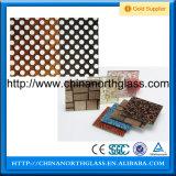 Patrón de cerámica de 10 mm templado de vidrio fritado