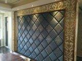 3D Panneau mural acoustique panneau décoratif bardage bâtiment Construction Decoration Material Panneau mural doux d'absorption acoustique