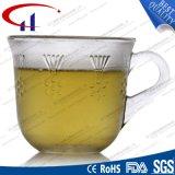 tasse de café en verre de vente chaude de couleur du silex 160ml (CHM8125)