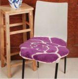 美しい花デザインの方法女性羊皮のシートのパッド