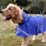Куртка дождя водоустойчивых одежд любимчика собаки облегченная с отражательной прокладкой