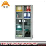 Gabinete de armazenamento de aço da altura cheia com porta de vidro