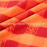 Polyester tissu polaire de l'impression Plaid pour Hat Vêtements Jouets