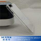 Caixas do telefone de pilha do Sublimation de Transperent 2D para o iPhone 6