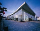 La estructura de acero de la prefabricación hermoso edificio de la fuerza