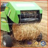 農場のわらの干し草の梱包機械
