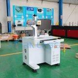 20W 금속 조판공을%s 탁상용 섬유 Laser 표하기 기계