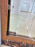 Galvanizando e cinzelando porta Finished do chuveiro do frame com as portas deslizantes dobro