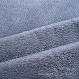 Tessuto domestico della pelle scamosciata del cuoio della tessile della tappezzeria con il processo di timbratura caldo