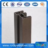 Material de plástico Perfil de PVC Perfis de UPVC para portas deslizantes Janelas de batente Perfil UPVC