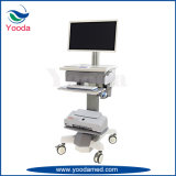 병원과 의학 워크 스테이션 컴퓨터 의학 트롤리