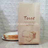 Eco imprimió las bolsas de papel barato recicladas &#160 del embalaje del pan de Brown Kraft;
