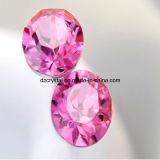Da cor decorativa de Rosa da fábrica de Pujiang Rhinestone de cristal para acessórios da jóia