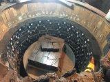 Brique de carbone magnésite pour cuillère