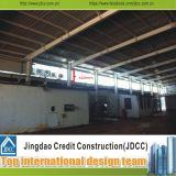 Fácil instalar edifícios de aço pré-fabricados do baixo custo