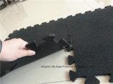 гимнастики выскальзования 3-12mm циновка толщиной анти- резиновый блокируя