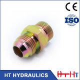 Connecteur hommes-femmes ajustant l'adaptateur hydraulique de boyau