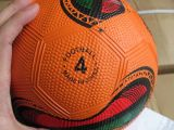 Ballon de football en caoutchouc pour la promotion