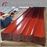 PPGIカラー上塗を施してある波形鉄板の屋根ふきシート
