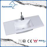 Évier de salle de bains et évier de comptoir en une pièce (ACB7350)