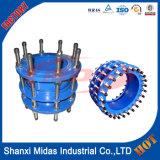 EN545 GGG50 fonte ductile Démantèlement mixte PN16 pour tuyaux de fonte ductile, tuyaux en PVC