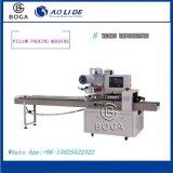 Machine van de Verpakking van het Hoofdkussen van de Koppen van het Document van de prijs Roterende BG-350