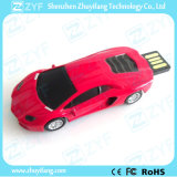 호화스러운 빨간 Lamborghini 최고 차 모양 USB 섬광 드라이브 (ZYF1726)