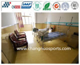 Pulverizador de limpeza fácil e colorido, piso da escola de poliureia, piso do hospital, superfície do salão