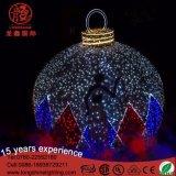 Decoración artificial de Navidad LED luces de bola gigante al aire libre para Plaza decorativos