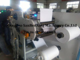 Machine d'enduit adhésive de fonte chaude de surface plane