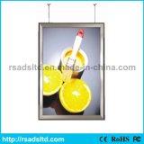 호리호리한 LED 가벼운 상자 전시 LED 포스터 프레임 광고