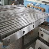 Lâmina de cisalhamento reta longa para cortar a barra de chapa de aço