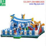 Grande Salto de desenhos animados castelo insuflável (BJ-F06)