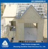 Heißer Verkaufs-einstöckiges fabriziertes Stahlkonstruktion-Haus