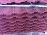 Prix de tuile de toiture en métal de pierre de tuile de toit de construction galvanisés couvrant la feuille