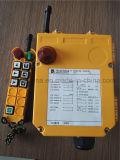À télécommande sans fil de pont roulant pour à télécommande industriel/radio F24-6D à télécommande pour la grue