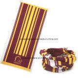 顧客用ロゴによって印刷される継ぎ目が無い多機能の淡黄色様式の魔法の首の管のスカーフ