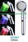 Testa di acquazzone del LED con l'acquazzone di Tempreture sul braccio (HY807)