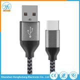 1 m de comprimento de carga do tipo C cabo de dados USB para Celular