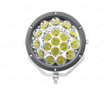 Lmusonu 10-30V DC Offroad 7명 인치 반점 또는 플러드 크리 사람 18PCS*5W 90W LED 작동되는 램프