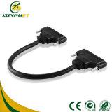 Linha de dados cabo distribuidor de corrente elétrico da conexão do fio
