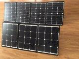 120W painel solar flexível para camping com gancho