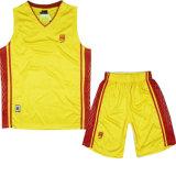 Reversible uniforme del baloncesto de 2017 de la aduana diseños de la insignia